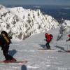 Ski touring in Baiului and Bucegi mountains
