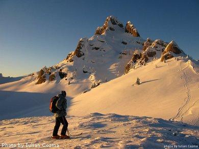 Schi in Muntii Ciucas