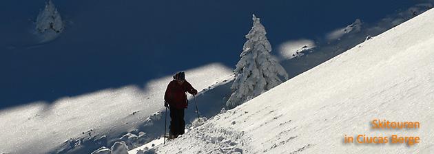 Skitouren in Ciucas Berge