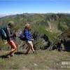 Climbing Moldoveanu peak, the highest peak in Romania