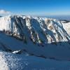 Zanoaga north ridge in Fagaras mountains