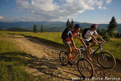 Mountainbiking in Cindrel mountains