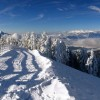 View from Poiana Brasov ski resort