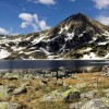 Bucura lake in Retezat National Park