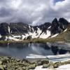 Taul Portii lake in Retezat National Park