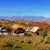 Simon village in Bucegi natural park
