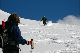 Ski touring Fagaras and Bucegi