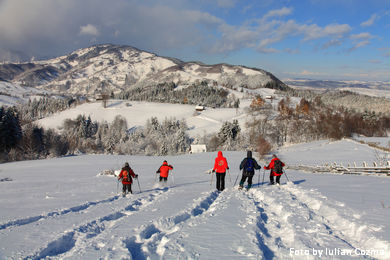 Schneeschuhtouren im Siebenburgen