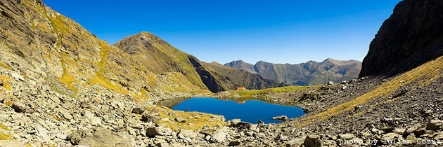 Lacul Caltun din Muntii Fagaras