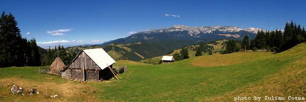 West part of Bucegi mountains