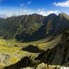 Vistea Mare valley in Fagaras mountains