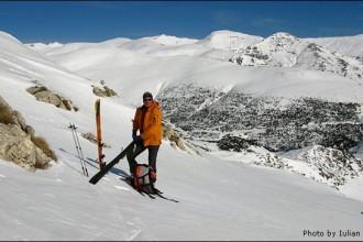 Sci alpinismo in Bucegi monti