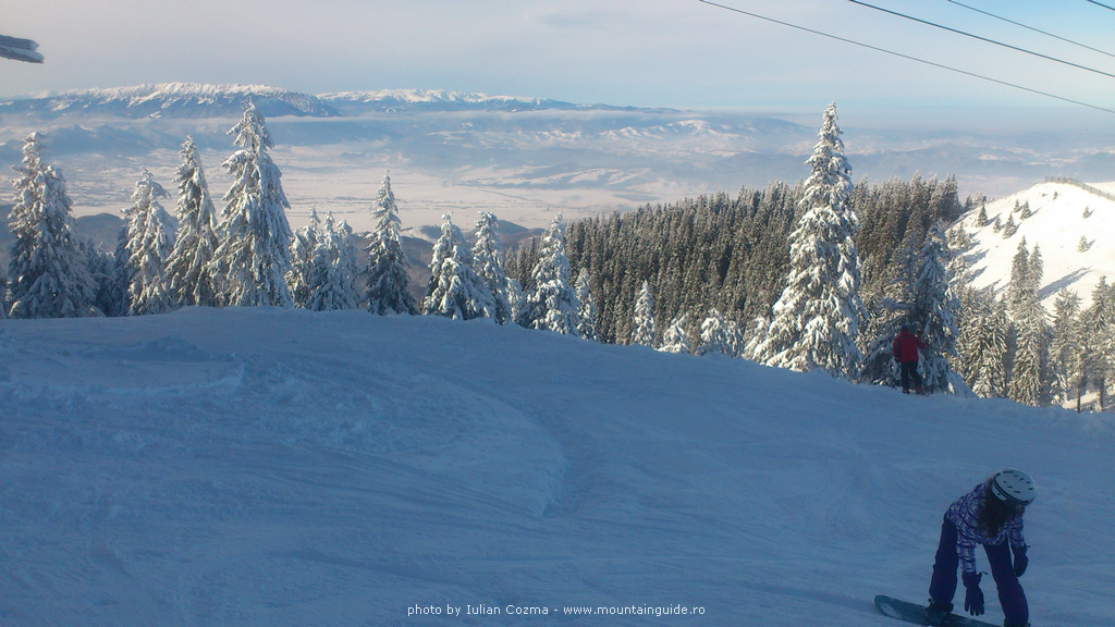 Poiana Brasov Romania Ski Powder Skiing in Poiana Brasov