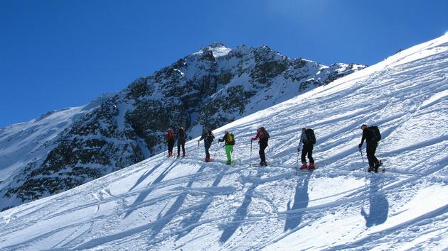 Skitouren in Bulgarien, Rila und Pirin Berge, das Klettern den höchsten Gipfel in Bulgarien, Musala Gipfel 2925 Metern Höhe