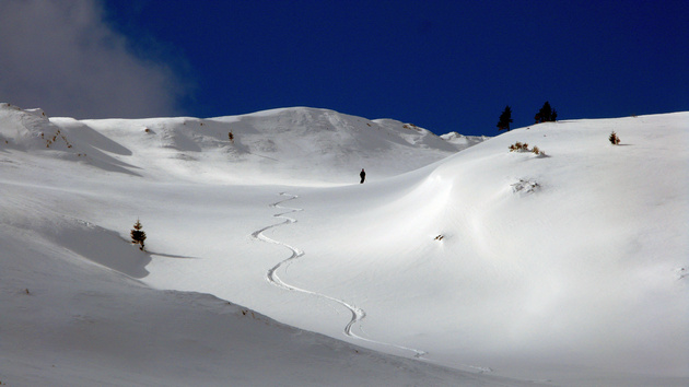 Ski touring trip in Romania, Bucegi mountains