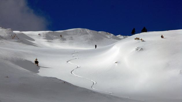 Ski touring trip in Romania, Bucegi mountains