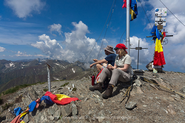 Climbing highest peak in Romania, rhododendron tour in Fagaras mountains