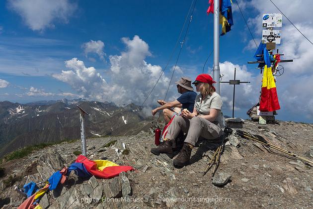 Climbing highest peak in Romania, rhododendron tour in Fagaras mountains