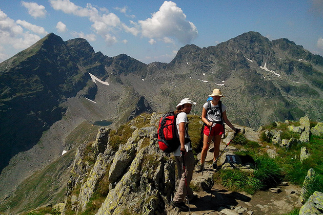Discover Romanian mountains, adventure hiking in Carpathians