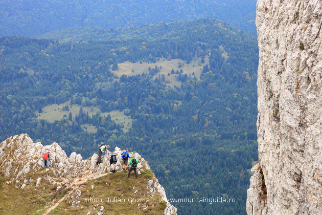 Irish Globetrotters walk in Romanian mountains, Bucegi, Piatra Craiului, Ciucas and Piatra Mare mountains