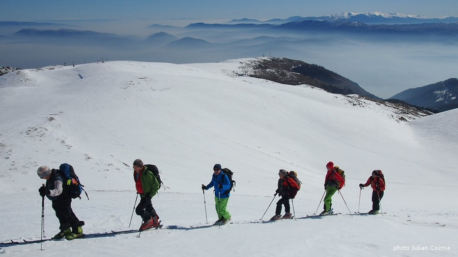 Ski touring in Macedonia republic