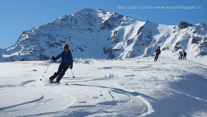 Ski tour experience in Romania