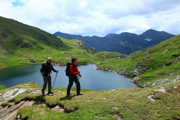 Hiking and walking in Romania, Fagaras and Bucegi mountains