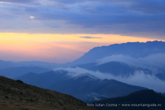 Hike through the East of Fagaras mountains from 20-23 August 2014