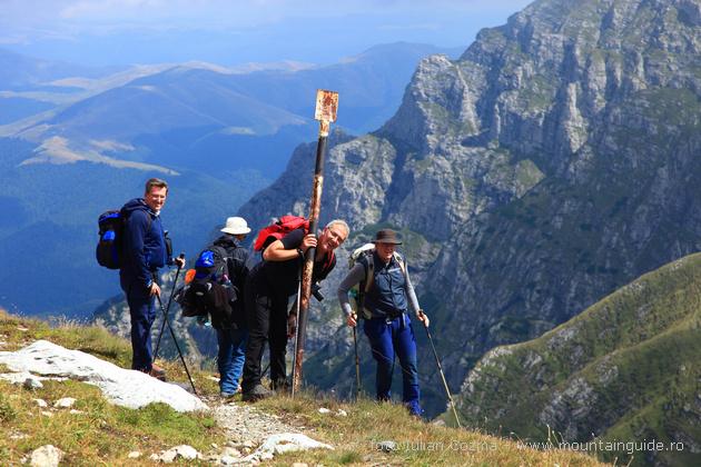 Wanderung in Karpaten Garten, Bucegi und Bran Landkreis