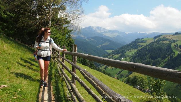 Walking holiday in Transylvania, Romania, Bran county