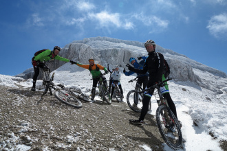 Out of the comfort zone, mountain biking in Transylvania, Romania