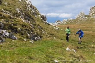 Walking tour in Transylvania, Romania, Bran county and Bucegi mountains