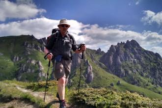 Hiking Romania, Bucegi and Ciucas mountains, South Carpathian mountains