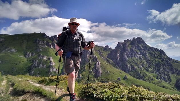 Hiking Romania, Bucegi and Ciucas mountains, South Carpathian mountains