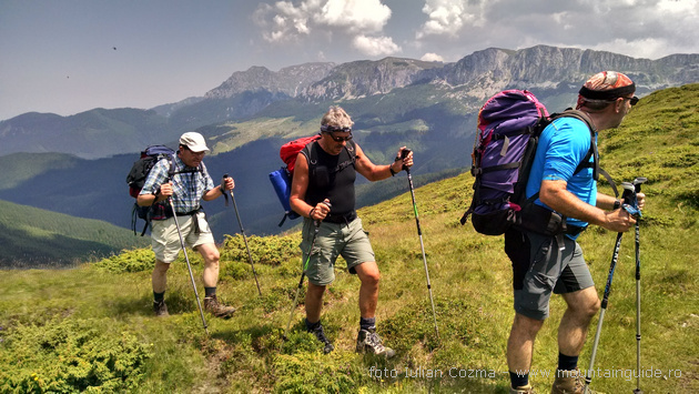 Hiking Piatra Craiului national park and Bucegi mountains