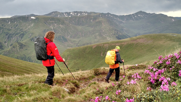 Enjoy hiking in Fagaras mountains