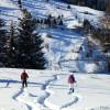 Snowshoeing in Transylvania
