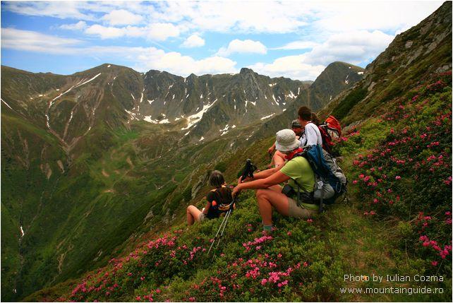 Randonnée en Roumanie, randonnée dans les montagnes Fagaras