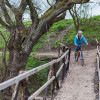 Mountain biking in Transylvania, Saxon villages