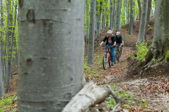 Mountain biking in Transylvania, Saxon villages
